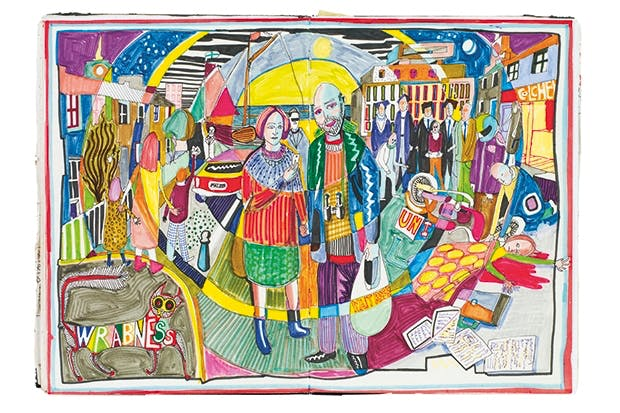 From Grayson Perry's Sketchbooks