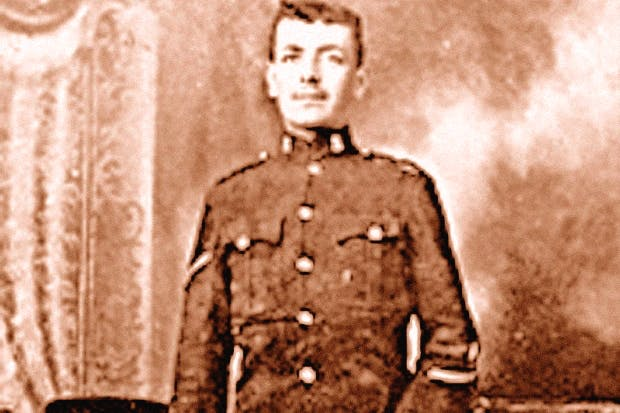 Harry Farr, a soldier with the 1st Battalion West Yorkshire Regiment, was executed for cowardice, aged 25, in 1916 when he refused to fight, despite almost certainly suffering from shell shock