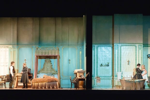 Drowning in detail: Vicki Mortimer's sets for Royal Opera's production of 'Lucia di Lammermoor'