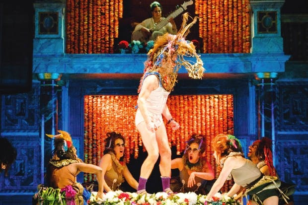 A weird, druggy, space-age Bollywood mash-up: Emma Rice's 'A Midsummer Night's Dream'