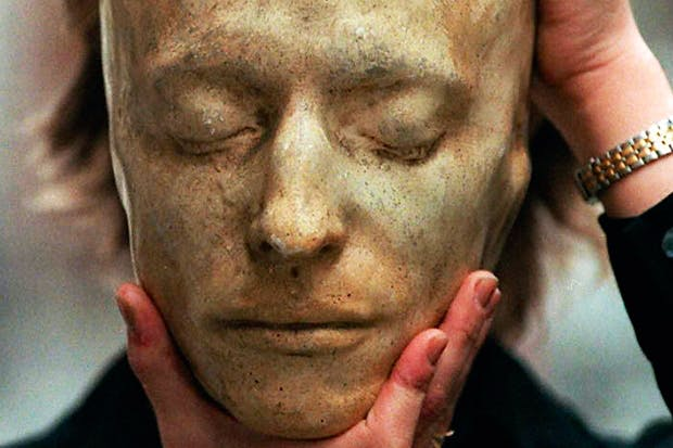 A kind of posthumous existence: a death mask of Keats, sold at auction for £16,100 in 1996