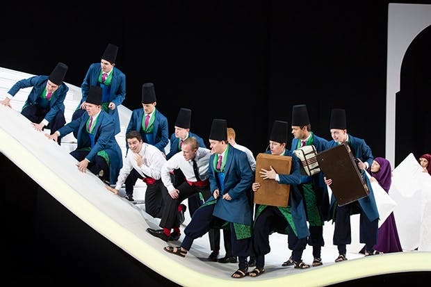 Visual whipped cream and cheoreographic sprinkles at Garsington fail to disguise the festering horror underneath Rossini's 'L'italiana in Algeri'