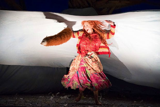 Fantastic Ms Fox: Elena Tsallagova as Vixen Sharp-Ears in 'The Cunning Little Vixen'