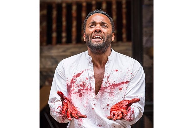More Dane than Thane: Ray Fearon as Macbeth