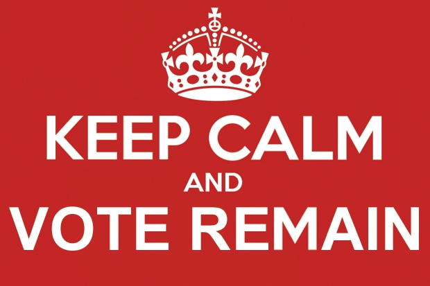 Six reasons to keep calm and vote Remain   The Spectator