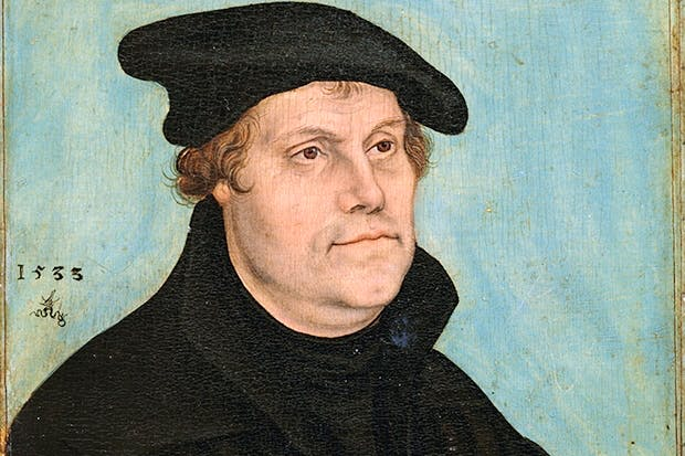 Portrait of Martin Luther by Lucas Cranach