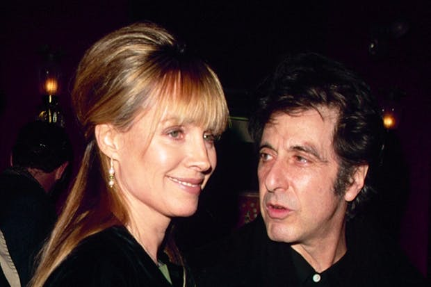 Her story bubbles with the funny and the famous: Lyndall Hobbs with Al Pacino in 1990