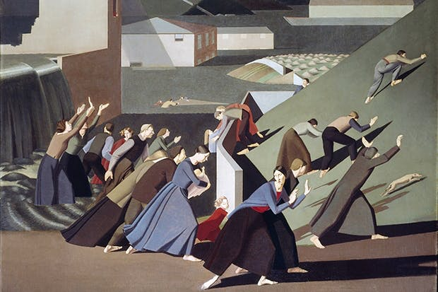 'The Deluge', 1920, by Winifred Knights