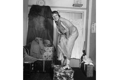 Elsa von Freytag-Loringhoven, multisexual kleptomaniac, scatologist and creator of Duchamp's 'Fountain', c.1920
