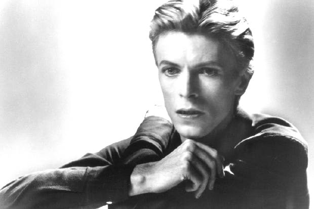 David Bowie, photographed in 1978