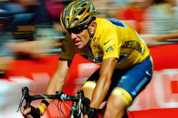 Extraterrestrial invader: Lance Armstrong