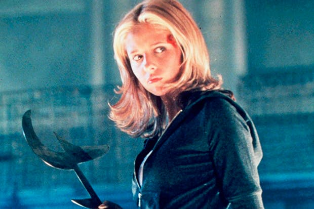 A role model for the modern woman: Sarah Michelle Gellar as Buffy the Vampire Slayer
