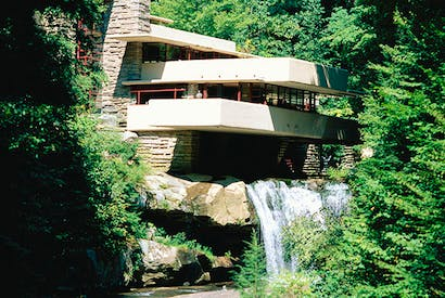 Fallingwater, Pennsylvania by Frank Lloyd Wright — one of the most astonishing houses ever built