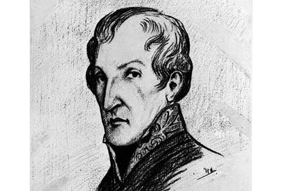 Sketch of Dr James Barry