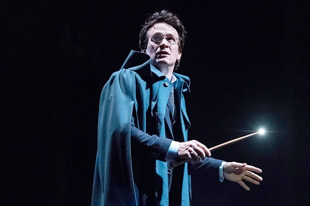 Put a spell on you: Jamie Parker as Harry in 'Harry Potter and the Cursed Child'