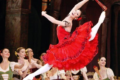 Maria Alexandrova as Kitri in 'Don Quixote'