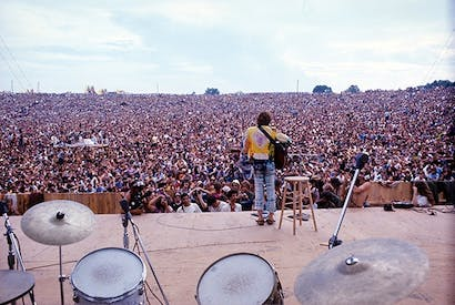 Natural high: John Sebastian's acoustic set at Woodstock, 1969