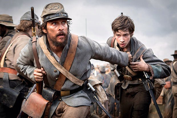 Goodfella: Matthew McConaughey as Newton Knight in 'Free State of Jones'