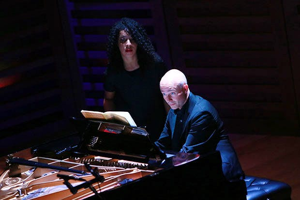Charles Own performing at the London Piano Festival, Kings Place. Photo: Amy T. Zielinski/Redferns