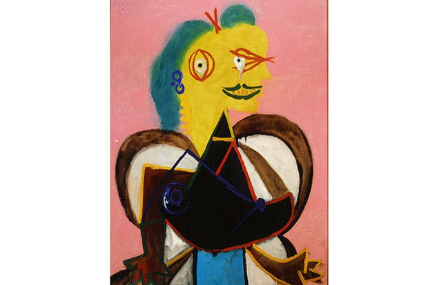 'Portrait of Lee Miller as l'Arlésienne', 1937, by Pablo Picasso