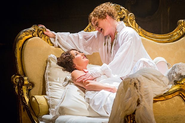 Sweet and sour: Ylva Kihlberg as the Marschallin and Helen Sherman as Octavian in Opera North's 'Rosenkavalier'