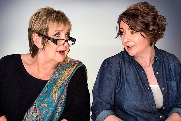 Jenni Murray and Jane Garvey of Radio 4's Woman's Hour. Photo: BBC/Amanda