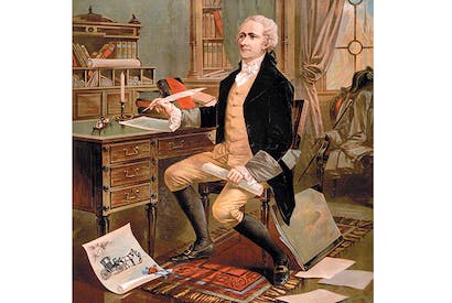 His contemporaries regarded Alexander Hamilton as an 'uppity' half-caste who wanted to be a dictator