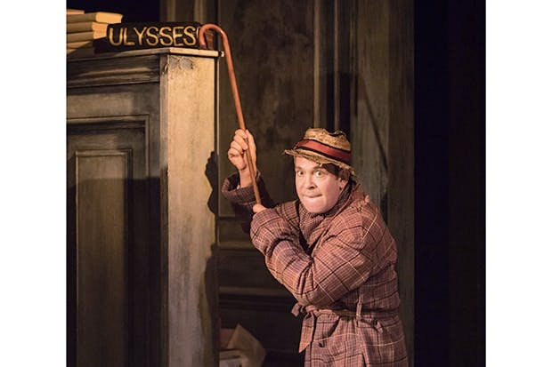 Tragic grandeur: Tom Hollander as Henry Carr in Stoppard's 'Travesties'