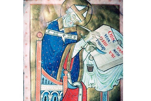 Aethelred's reign was not only a time of bloodshed and Viking warriors, but also of piety, learning and St Dunstan (above), who died in 988