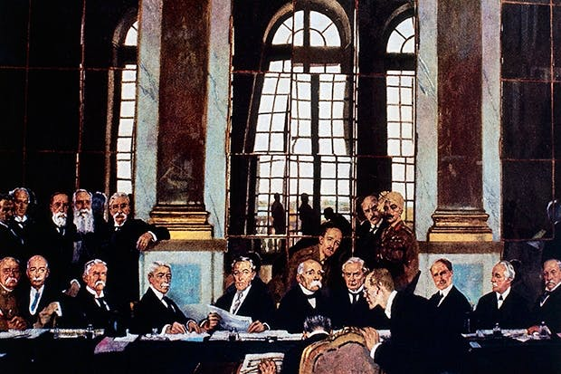The Treaty of Versailles — which made the second world war inevitable