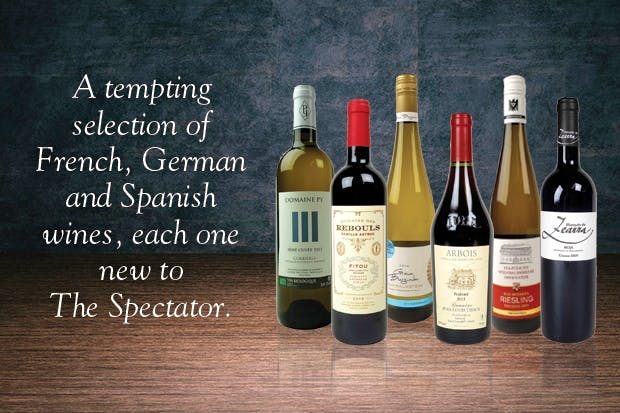 A tempting selection of French, German and Spanish wines, each one new to The Spectator.