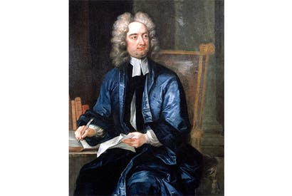 Portrait of Jonathan Swift by Charles Jervas