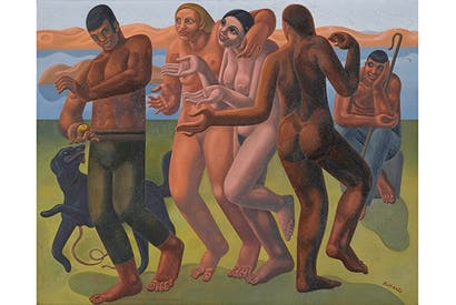 'The Judgement of Paris', 1933, by William Roberts