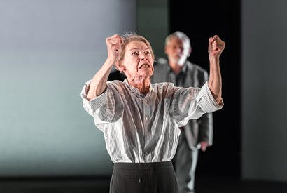 Snarly rather than menacing: Glenda Jackson as King Lear