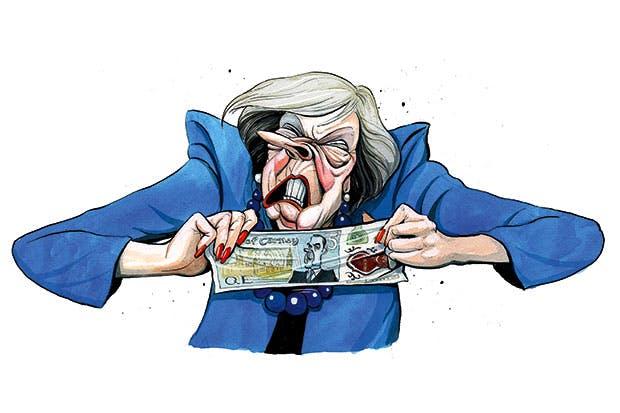 Risultati immagini per May cartoons parliament uk