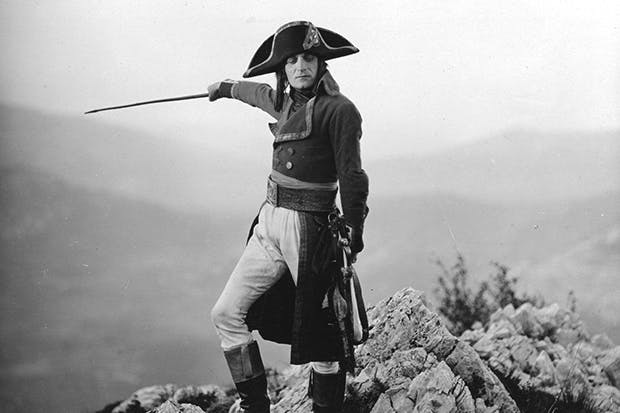 Albert Dieudonné as Napoleon in Abel Gance's five-and-a-half-hour epic