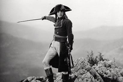 Albert Dieudonné as Napoleon in Abel Gance's five-and-a-half-hour epic