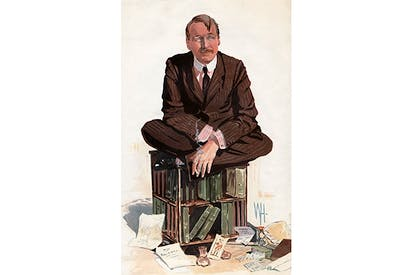 Mark Sykes in Vanity Fair, June 1912