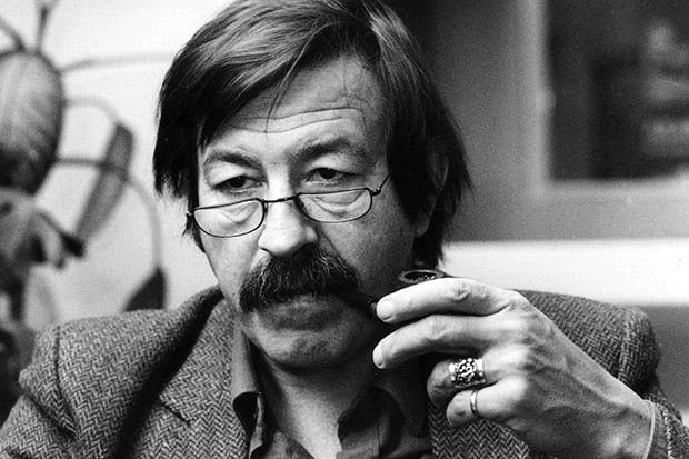 Günter Grass, who died last year, photographed in 1981