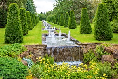 The garden at Thenford, Northamptonshire