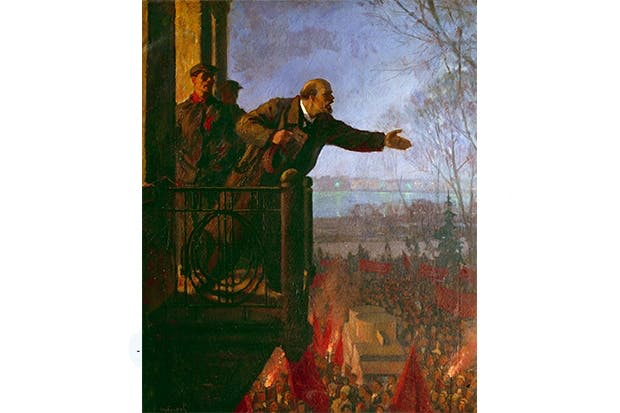 Red dawn: Lenin demands revolution, April 1917