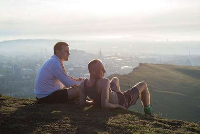 Take two: Ewan McGregor (Renton) and Ewen Bremner (Spud) in 'T2 Trainspotting'