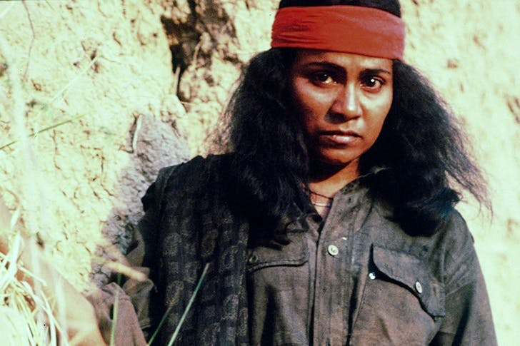 Seema Biswas as Phoolan Devi in the 1994 film Bandit Queen