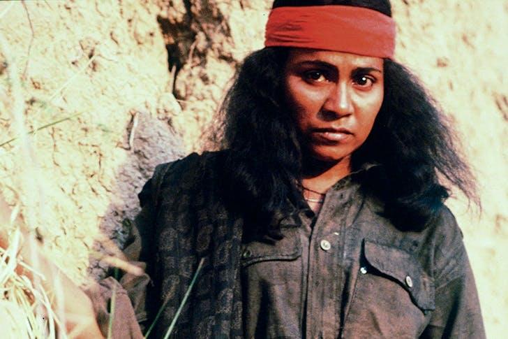 Seema Biswas as Phoolan Devi in the 1994 film Bandit Queen