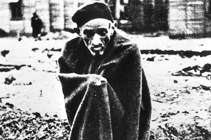 An inmate of Auschwitz in the early 1940s