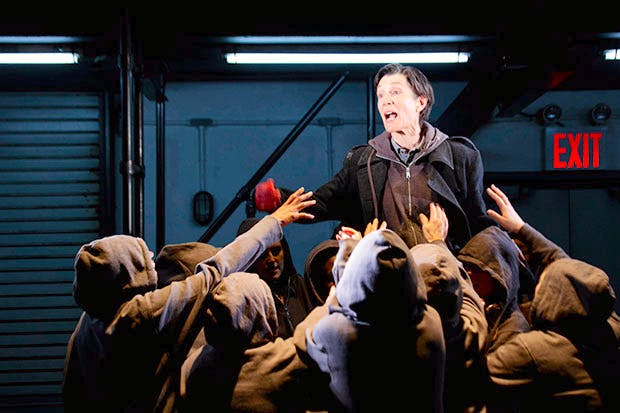 Harriet Walter as Brutus in the Donmar s 2012 production of Julius Caesar f425d65f6a