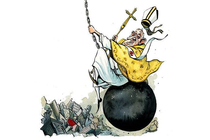 Why More And More Priests Cant Stand Pope Francis The Spectator