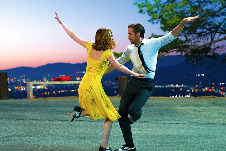 Let's dance: Emma Stone and Ryan Gosling in 'La La Land'