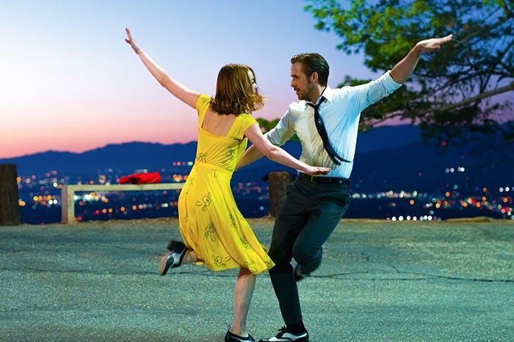 Let's dance: Emma Stone and Ryan Gosling in 'La La Land'