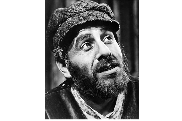 Star quality: Chaim Topol as Tevye